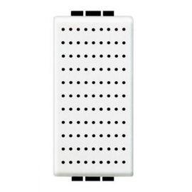 Zumbador 1 módulo blanco Bticino Livinglight  N4356/230