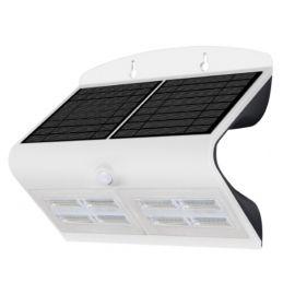 Aplique pared solar de exterior IP65 6,8W 840 800lm Blanco de Prilux