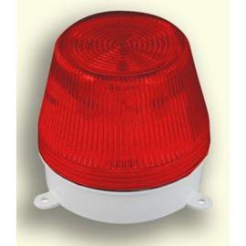 Avisador flash Xenon 230V rojo Rodman RAL1R1