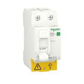 Interruptor diferencial 2P 25A 30ma Resi9 Schneider R9R51225