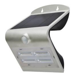 Aplique pared solar de exterior IP65 3,2W 840 400lm Gris de Prilux 472180