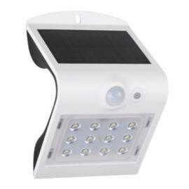 Aplique pared solar de exterior IP65 1,5W 840 220lm Blanco de Prilux 472104