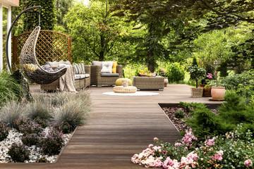 Cómo iluminar tu jardín estilo Chillout en Qmadis