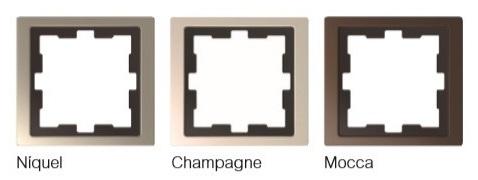 Acabados metálicos de marcos de la nueva serie D-Life de Schneider Electric