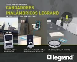 Cargadores por inducción de Legrand