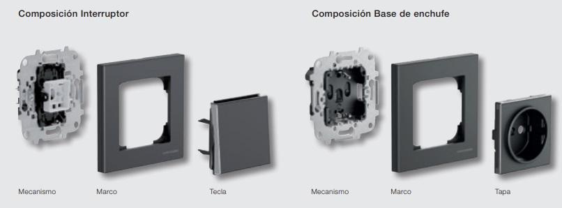 Composición Interruptor Niessen