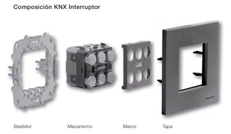 Composición KNX interruptor Zenit