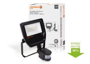 Proyector con sensorFloodlight LED LEDVANCE de exterior