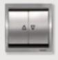 Interruptor de persianas Niessen