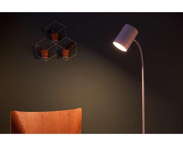 Lámpara de pie Himroo de Phillips
