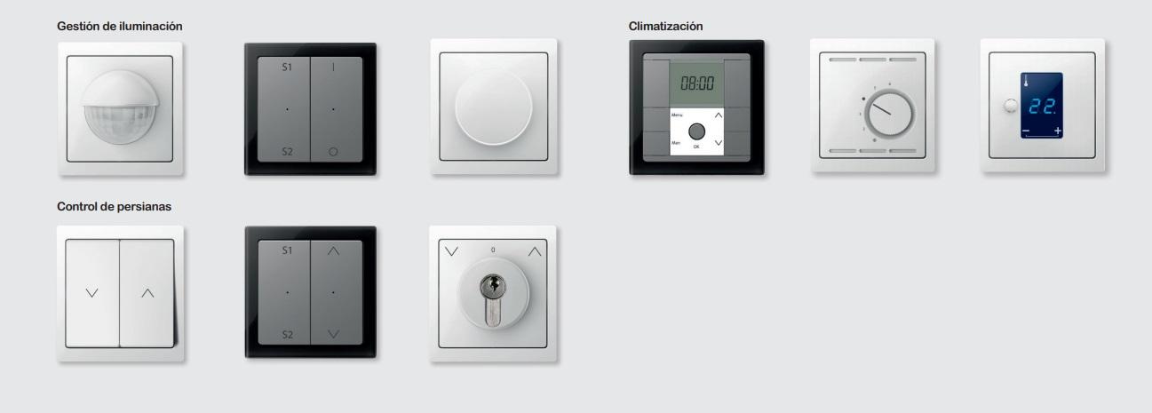 Mecanismos electrónicos de la seri D-Life de Schneider Electric