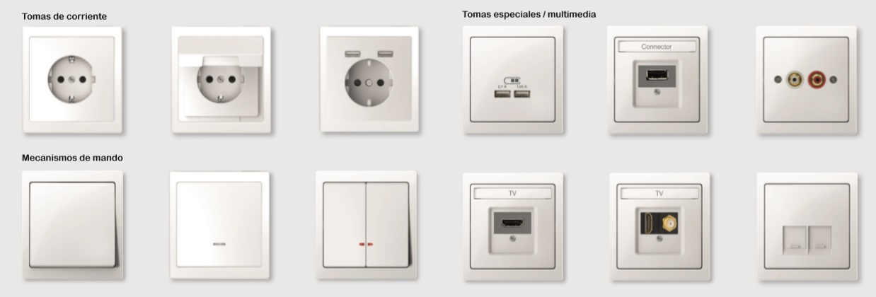 Mecanismos convencionales de la nueva serie D-Life de Schneider Electric