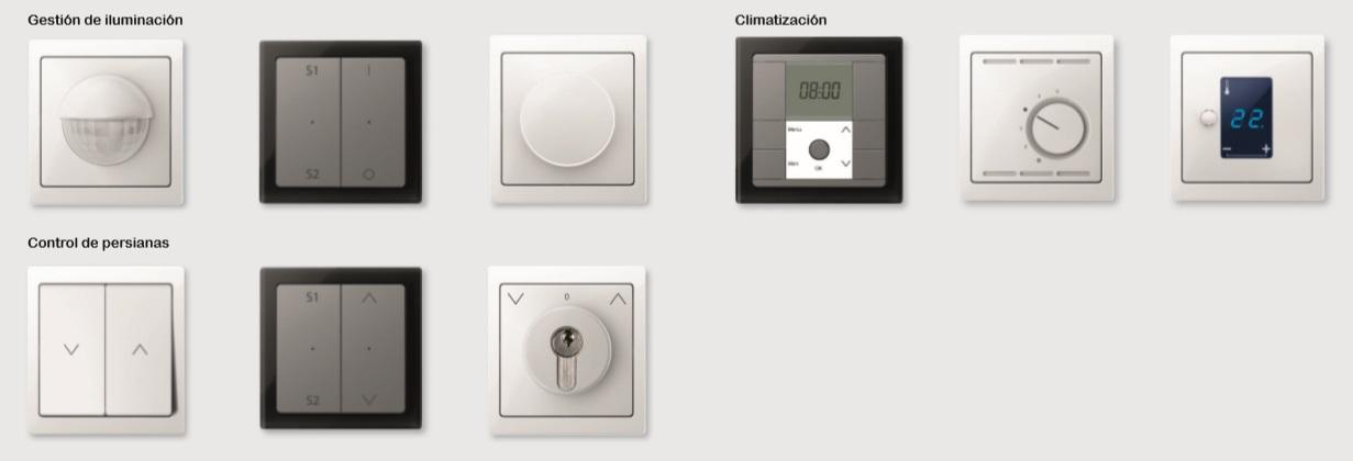 Mecanismos electrónicos de la nueva serie D-Life de Schneider Electric