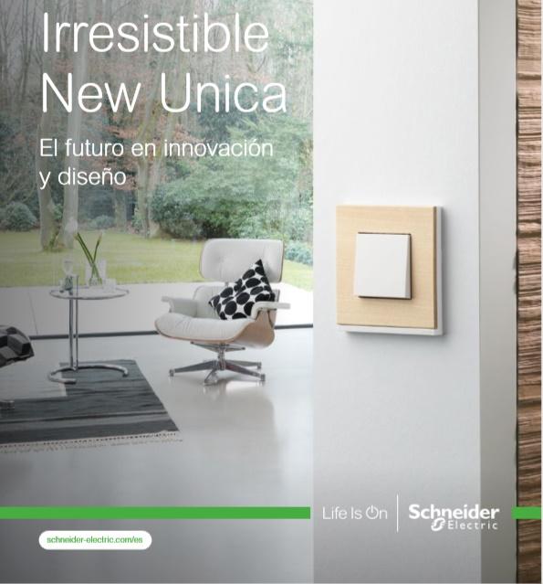 Gama New Unique de Schneider Electric