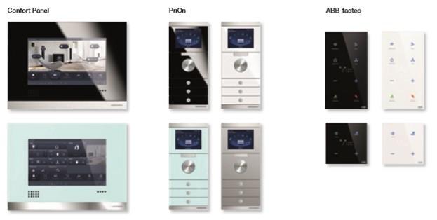 Sensores KNX ABB Tacteo, Confort Panel y PriOn de Niessen