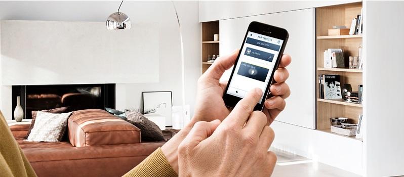 Sistema de automatización Free@home de Niessen compra en Qmadis