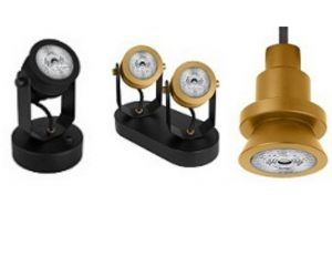 luminarias para lámparas PAR16