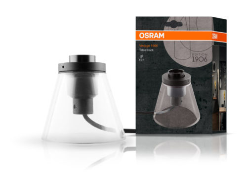 Luminaria Lámpara de mesa Table Black de LEDVANCE en Qmadis