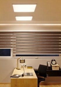 Iluminación con panel LED de techo Planon de OSRAM en QMADIS