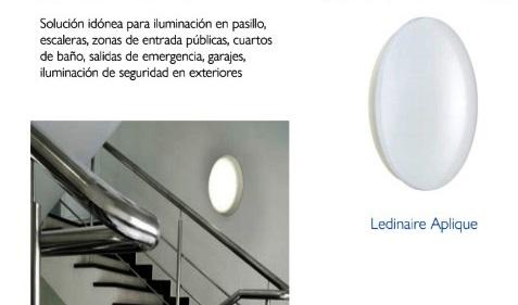 Iluminación de edificios con apliques Philips Ledinaire