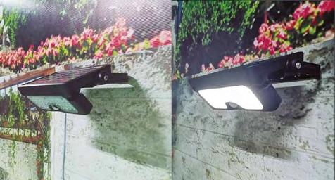 Iluminacion LED solar para el jardín con cero consumo de energía