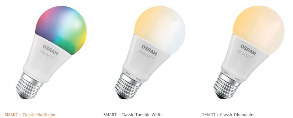 Bombillas OSRAM SMART+ Clásica