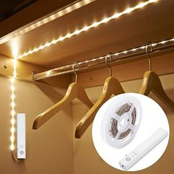 iluminar armario con tira LED