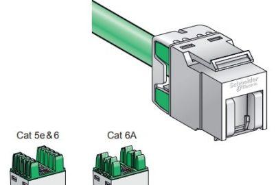 Conectores RJ45 Actassi de Schneider