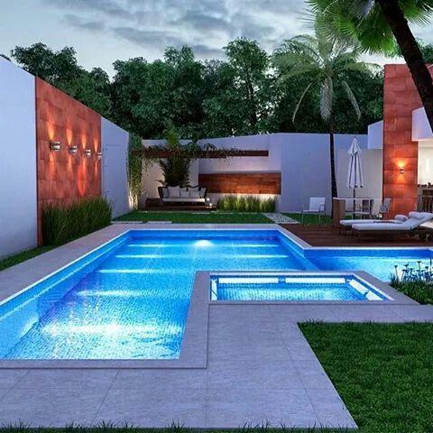 Cómo preparar la iluminación de la piscina