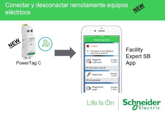 Sensores de energía inalámbricos PowerTag deSchneider Electric.