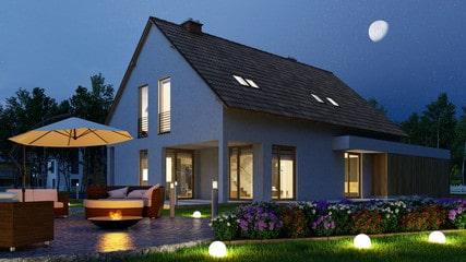 Iluminación exterior chill out para decorar el jardín de tu casa
