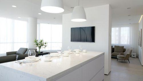 Iluminación de cocina con downlightLED Deep Mini de Arkoslight en Qmadis