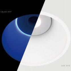Downlight LED de empotrar Lex Eco Blue de Arkoslight en Qmadis
