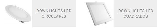 Toda la gama en downlight LED en Qmadis
