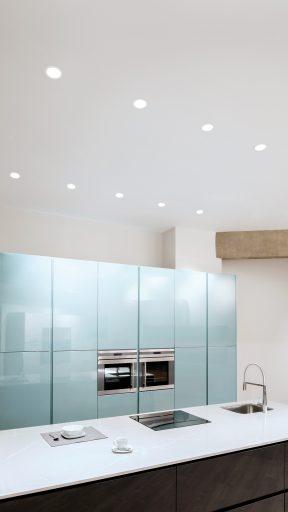 swap arkos: como distribuir focos en el techo cocina
