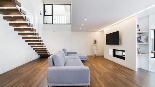 luces swap: focos empotrables led techo salón