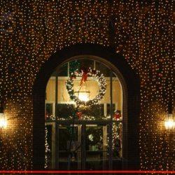 Iluminación navideña Led de fachadas