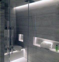 Cómo iluminar zona de ducha del baño