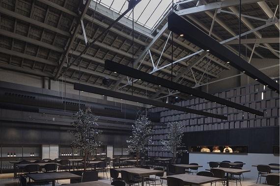 Iluminación de un restaurante de éxito
