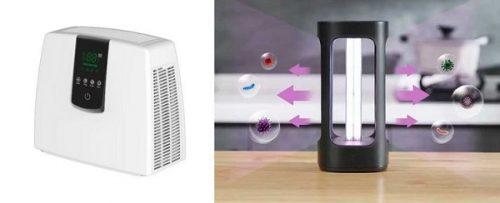 Ionizador de aire covid con UV que cuida tu salud