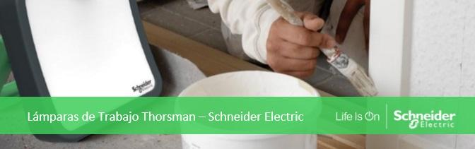 Lámpara de trabajo Thorsman de Schneider Electric en Qmadis