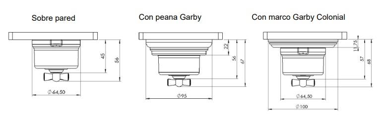 Mecanismos Garby de Fontini