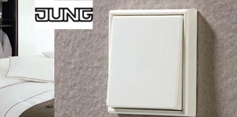 mecanismos de la serie ls 990 de jung qmadis. Black Bedroom Furniture Sets. Home Design Ideas