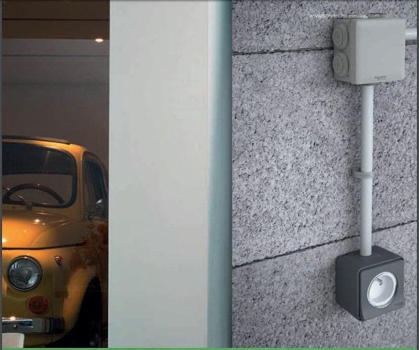 Mecanismos Mureva Styl de Schneider para garajes