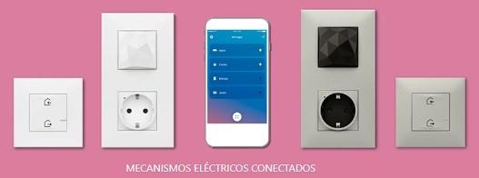 Mecanismos eléctricos conectados Valena next with Netatmo