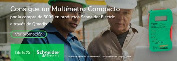 Multímetros Schneider para electricistas
