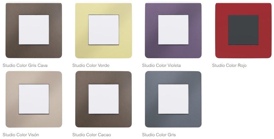 New Unica Studio Color Schneider Electric en Qmadis