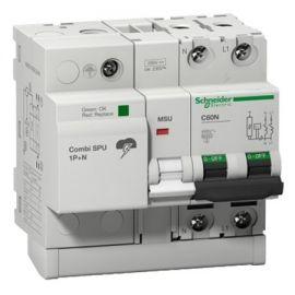 Combi SPU 1P+N 40A protección combinado sobretensión
