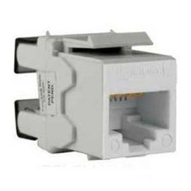 Conector hembra RJ45 UTP CAT6 Keystone blanco