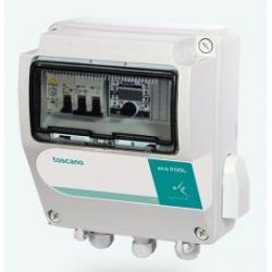 Cuadro monofásico piscina transformador 100W ECO-POOL-B-230-T100
